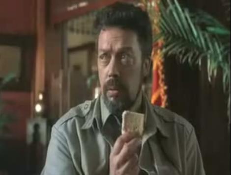 """""""Stop eat-ing my sesame cake!"""" -- Congo"""
